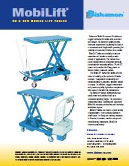Mobile Lift Tables BX BXB Literature
